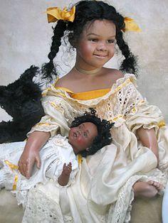 Janie doll by Susan Krey
