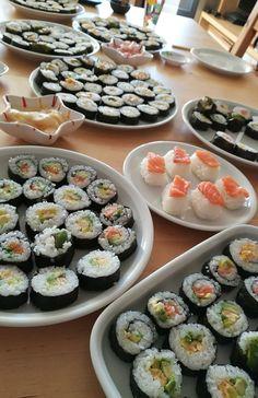 Kaninchenherz ♥     Sushi party