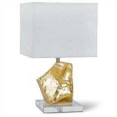 Gold Nugget Table Lamp