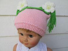 Precious baby girl Hat Toddler baby hats baby by Ritaknitsall