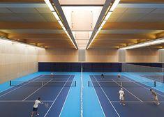 Stanton Williams converts Olympic training venue into sports centre