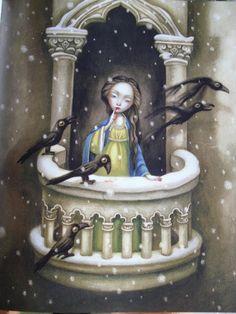 at the castle Crow Art, Raven Art, Mark Ryden, Illustrations, Illustration Art, Quoth The Raven, Jackdaw, Crows Ravens, Rabe