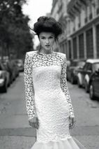 Magnificent Wedding Dresses for Magnificent Women is beautiful collection of gorgeous Wedding dresses created by famous fashion brand Cymbeline. Cymbeline Wedding Dresses, Wedding Dress 2013, Wedding Dress Gallery, Stunning Wedding Dresses, Wedding Dress Styles, Dream Wedding Dresses, Wedding Gowns, Elegant Wedding, Lace Wedding