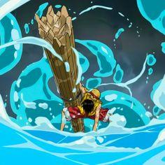 One Piece World, Blue One Piece, Anime Dad, Otaku Anime, Cartoon Icons, Blue Wallpapers, Anime Sketch, One Piece Anime, Blue Aesthetic