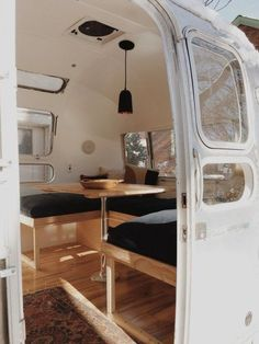 Gorgeous Airstream Renovation Tour Before And After Remodel (3)