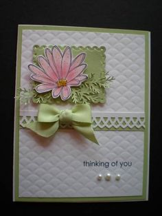 In Full Bloom by Selma - Cards and Paper Crafts at Splitcoaststampers  certainly celery