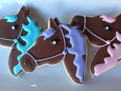 Customizable Horse Sugar Cookies, via Etsy.