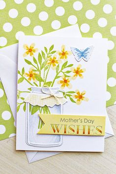 PTI Friendship Jar + PTI Flower Favorites + Keep It Simple Mother's Day by Papertrey Ink - Erin Lincoln
