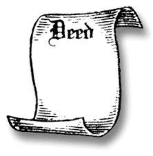 Since title to real property can be transferred from an owner in many ways, such as through marriage, divorce, death and etc. Deed is the formal document used to transfer ownership of real property from one person or entity to another. A formal deed must to consist of the date, the names and descriptions of the parties involved in the transfer. Also, deeds may have two subtypes; one is warranty deeds and another one in quitclaim deeds.