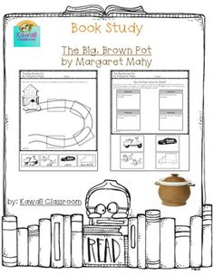 $1.50: This resource was created to go along with the book The Big, Brown Pot by Margaret Mahy. I tried to make it go along with the book level (Guided Reading: J) and not be too complicated. On the first page, students will glue each character in the correct place behind Mr.