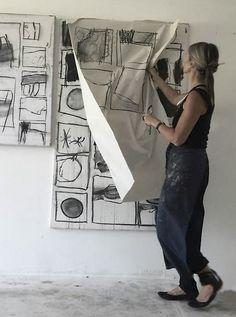 Kontakt – ines hildur | malerei painting peinture