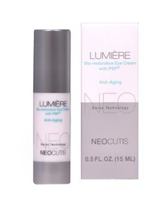 Keeps the skin around my eyes hydrated and soft all day, even under makeup.  I must use a lot of under eye coverup and this product is the only one that works for me.  I've tried so many different products over the years and this is on the top of my list for dry eye skin and dark circles.