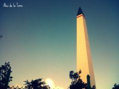 Obelisco de Actopan (Hidalgo), México.