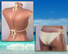 Crochet bikini Women Swimsuit Summer trends by LoveKnittings
