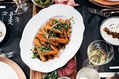 Giada De Laurentiis' Smokey Candied Carrots with Walnut Gremolata | Thanksgiving Sides