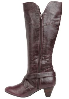 Plus Size Pammy wide-calf boot image