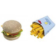 Speelgoed Hamburger met Frietjes via @benjaminbengel