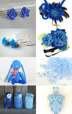 ~~  Out Of The Blue  ~~ by Megan Alason Pearl on Etsy--Pinned with TreasuryPin.com