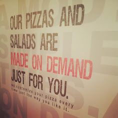 MOD Pizza sign