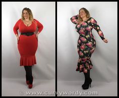 @ladyvlondon Lady Voluptuous Bellatrix Dress size 16 http://www.curvywordy.com/2015/05/lady-v-london-lady-voluptuous-bellatrix.html