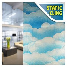 Buy Decorative Film's Frosted Privacy Window Film covers your window with a frosty, matte blur that provides privacy without completely blocking out natural light. This film will ensure that neither you nor the person on the other side will be able to see through the window. As the basis of our Frosted Matte series, Buy Decorative Film's Clear Frosted Matte film blurs out your window without adding any color to it. If you want to make your window or any other glass surface look frosted for… Stained Glass Window Film, Cotton Candy Clouds, Traditional Windows, Window Privacy, Window Films, Static Cling, Through The Window, Glass Shower, Glass Door