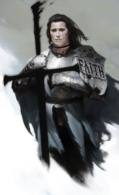 k - w by JiHunLee on DeviantArt Fantasy Character Design, Character Concept, Character Art, Concept Art, Character Ideas, Fantasy Armor, Medieval Fantasy, Dark Fantasy, Dnd Characters