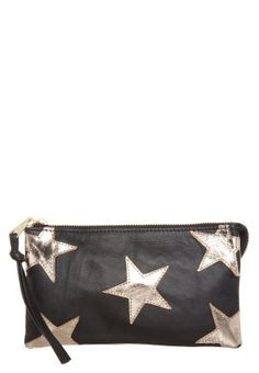 Fab JOSE Clutch once you go black gold