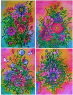 bouquets by flowwwer on DeviantArt