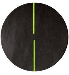 light sonic round rug | second studio