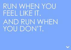 Run, whenever. #running #inspiration #motivation