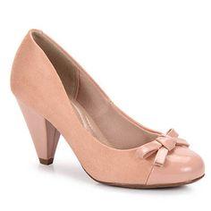 Sapato Scarpin Conforto Feminino Beira Rio - Nude