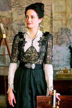 I'm in love with the outfits from Penny Dreadful