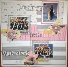 Pretty little WINNERS - Scrapbook.com