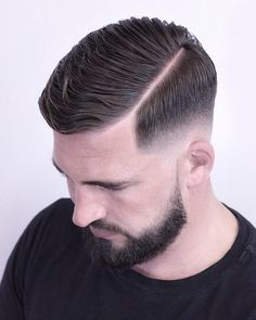 70 Skin Fade Haircut Ideas (Trendsetter for mens style New Men Hairstyles, Trendy Mens Haircuts, Side Part Hairstyles, Undercut Hairstyles, Men's Hairstyle, Hard Part Haircut, Side Part Haircut, Fade Haircut, Mens Comb Over Haircut