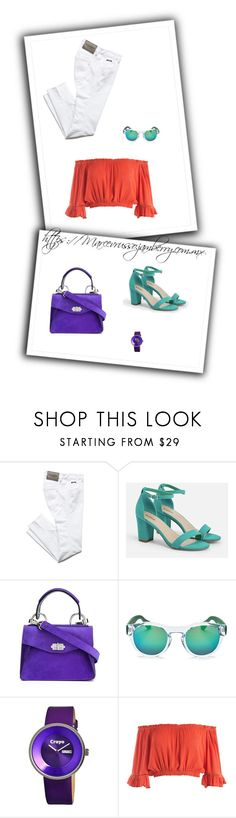 """#SOMETIMEINJUNE"" by negrivr on Polyvore featuring Belleza, JustFab, Proenza Schouler, Havaianas, Crayo y Sans Souci"