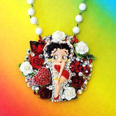 Betty Boop Necklace http://www.etsy.com/shop/glamourpusscouture?ref=pr_shop