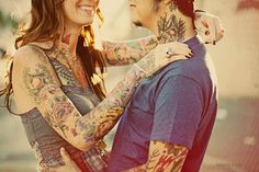 tattoos are always more beautiful when they seem to bring people together