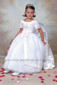 Dresses on pinterest girls dresses flower girl dresses and satin