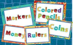 Primary Inspired: I Made It Monday! ~~ Labels & a Freebie!