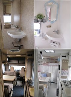 Great before and after images on this blog: http://home-sweet-motorhome.blogspot.com