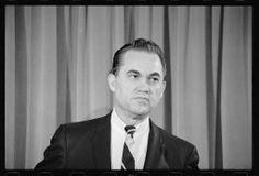 Alabama segregationist Governor George Wallace.