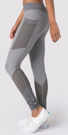 Breathable Mesh panels for airflow to help keep you cool as you bend, twist and stretch.   Challenge Ready Pant