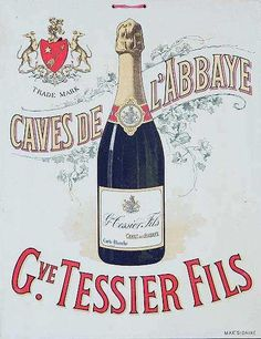 d4425af45 Vintage champagne poster Blame it on the bubbly with LOKC s production of  Die Fledermaus.