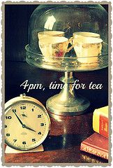 4pm Time for tea