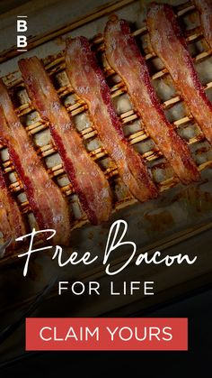 It's been a year. There's one easy way to make sure 2021 is a little better. Look forward to FREE bacon in every ButcherBox™ order for the life of your membership. Bacon's always got your back—don't miss your chance to get it for FREE. Cooking For Two, Fun Cooking, Cooking Recipes, Food Craving Chart, Meat Delivery, Pork Roll, Ground Beef Recipes For Dinner, Food 101, Best Meat