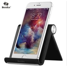 Benks Flexible Mobile Phone Holder V-Stand for iPhone 7 5 6 6s Plus Ipad for Lazy Bedside Tablet Desktop 3.5'' to 11'' device * AliExpress Affiliate's buyable pin. Detailed information can be found on www.aliexpress.com by clicking on the VISIT button