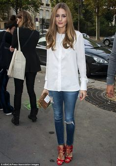 Olivia Palermo. She has such amazing style sense!