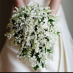 Lily of the valley bouquet by Carmen Living Arts FloralDesigns