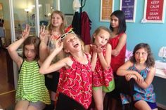 Summer Camp: Beach Party (Shorts and Tote) Made Sewing Studio Seattle, WA #Kids #Events