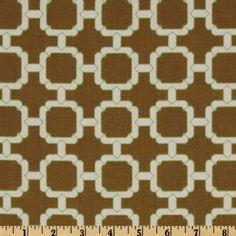 Swavelle/Mill Creek Rowley Walnut - Discount Designer Fabric - Fabric.com